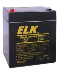 Elk ELK-1250 12V 5Ah Sealed Lead Acid Battery