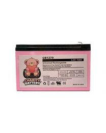 Verizon FiOS PX12072HG 12V 7Ah GS Portalac Battery Replacement GT12080-HG by Charity Battery