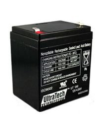 UltraTech UT1240 12V 4.5Ah Battery SLA Sealed Lead Acid