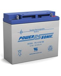 Power-Sonic PS-12180 12V 18Ah Battery SLA Sealed Lead Acid