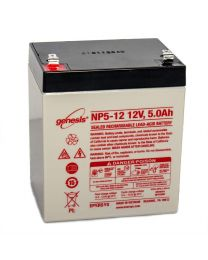 Enersys Genesis NP5-12 12V 5Ah Battery SLA Sealed Lead Acid