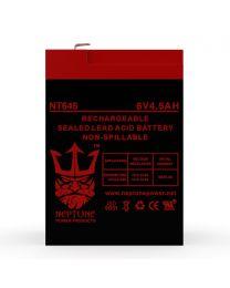 Neptune NT-645 6V 4.5Ah Battery SLA Sealed Lead Acid