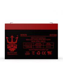 Neptune NT-670 6V 7Ah Battery SLA Sealed Lead Acid