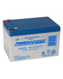 Power-Sonic PS-12120 12V 12Ah Battery SLA Sealed Lead Acid