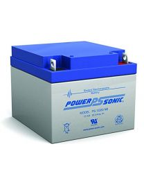 Power-Sonic PS-12260 12V 26Ah Battery SLA Sealed Lead Acid