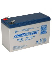 Power-Sonic PS-1290 12V 9Ah Battery SLA Sealed Lead Acid