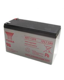 Yuasa NP7-12FR 12V 7Ah Flame Retardant Battery SLA Sealed Lead Acid