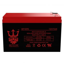 Replacement Battery SLA Altronix AL6246C 12V 7Ah with F1 terminal